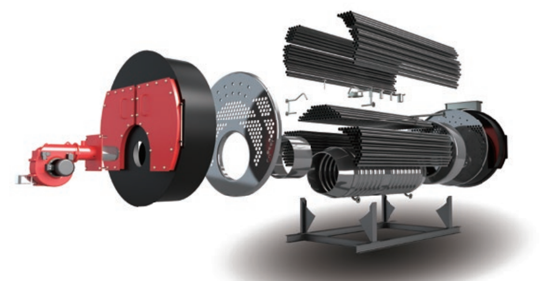 燃油(燃气)WNS系列全自动蒸汽锅炉